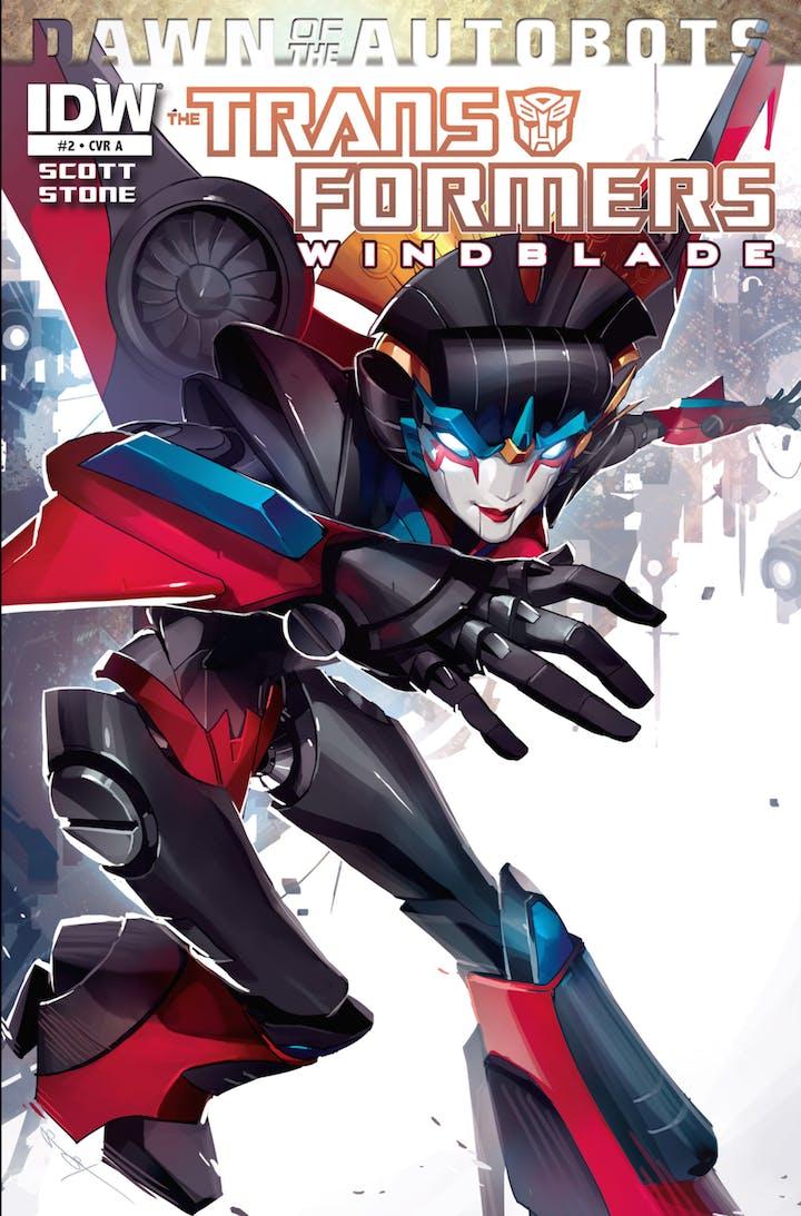 Transformers Windblade comic cover