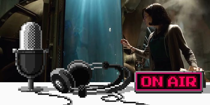 Upstream podcast discusses The Shape of Water