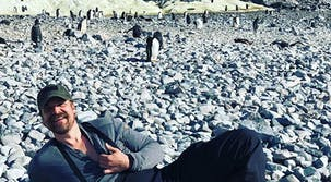 Stranger Things' David Harbour Danced With Penguins in Antarctica