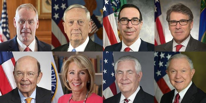 trump cabinet members