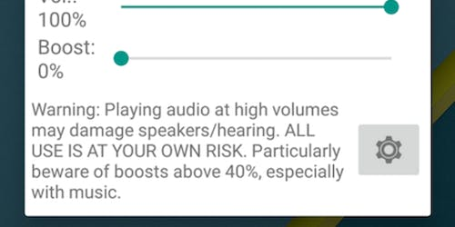 speaker booster apps for android : Volume Booster GOODEV