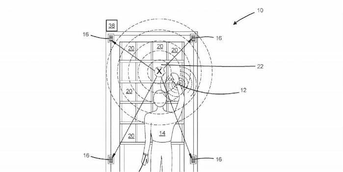 amazon wireless wristband patent