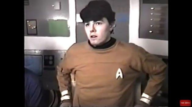 Seth MacFarlane Star Trek teenager