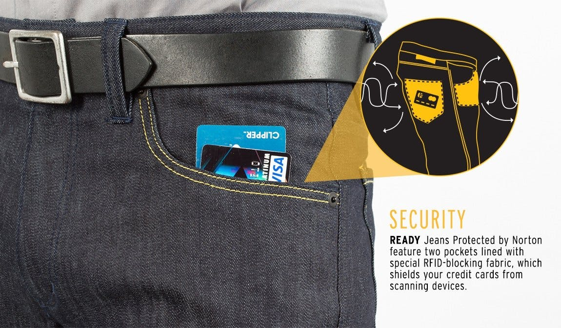 READY Jeans Protected by Norton