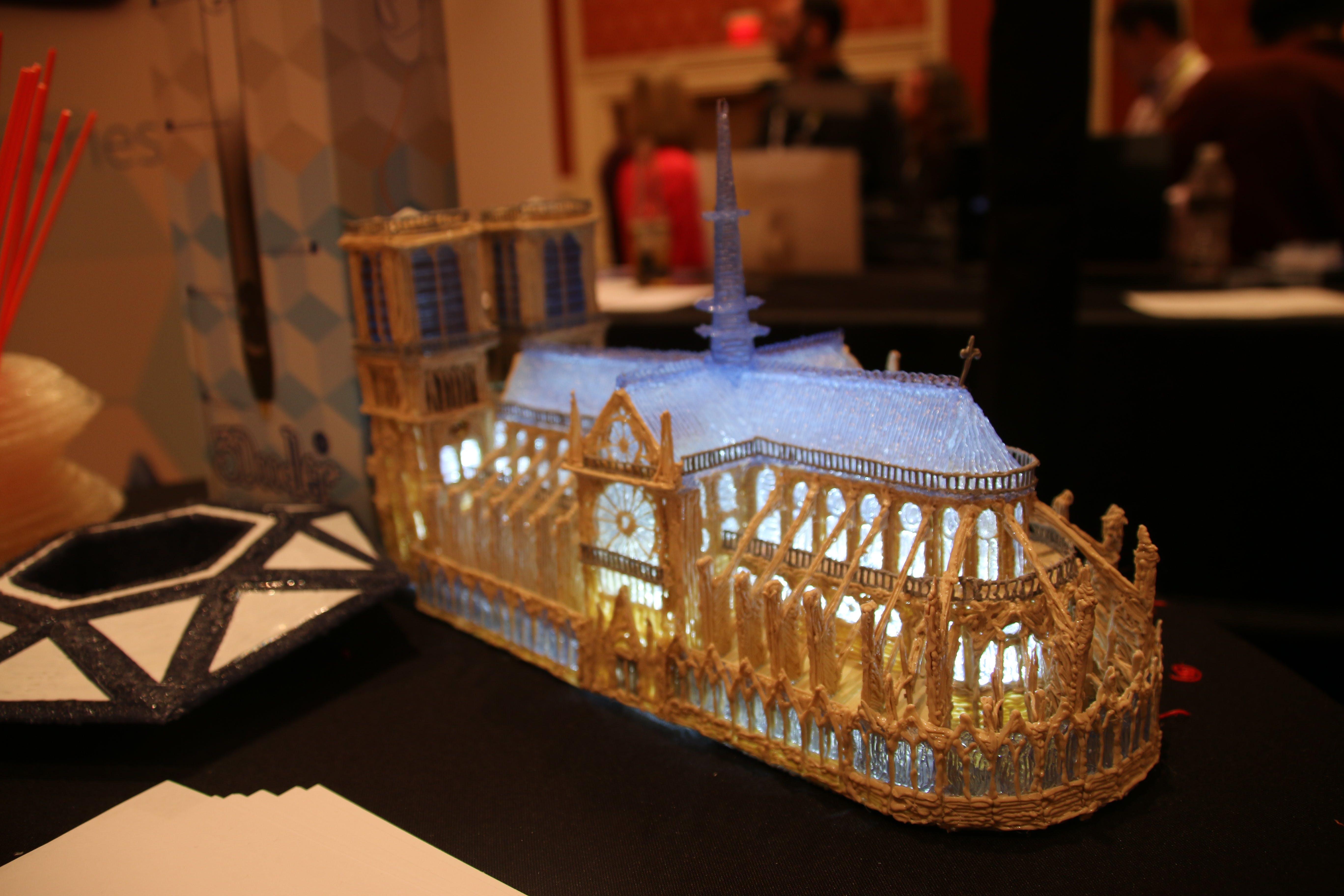 Made using 3Doodler.