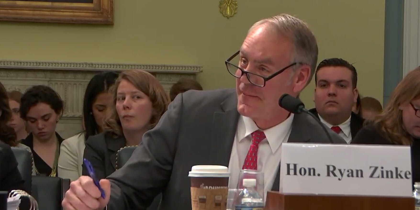 Interior Secretary Ryan Zinke is being criticized for making a racist comment when speaking with a Hawaiian lawmaker.