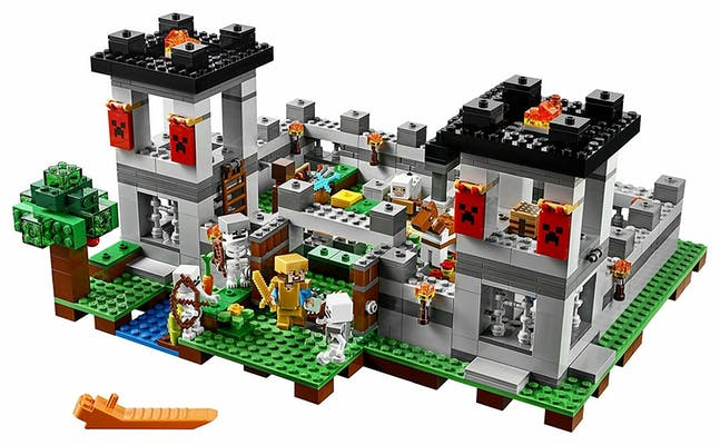 lego for girls : Lego Minecraft The Fortress
