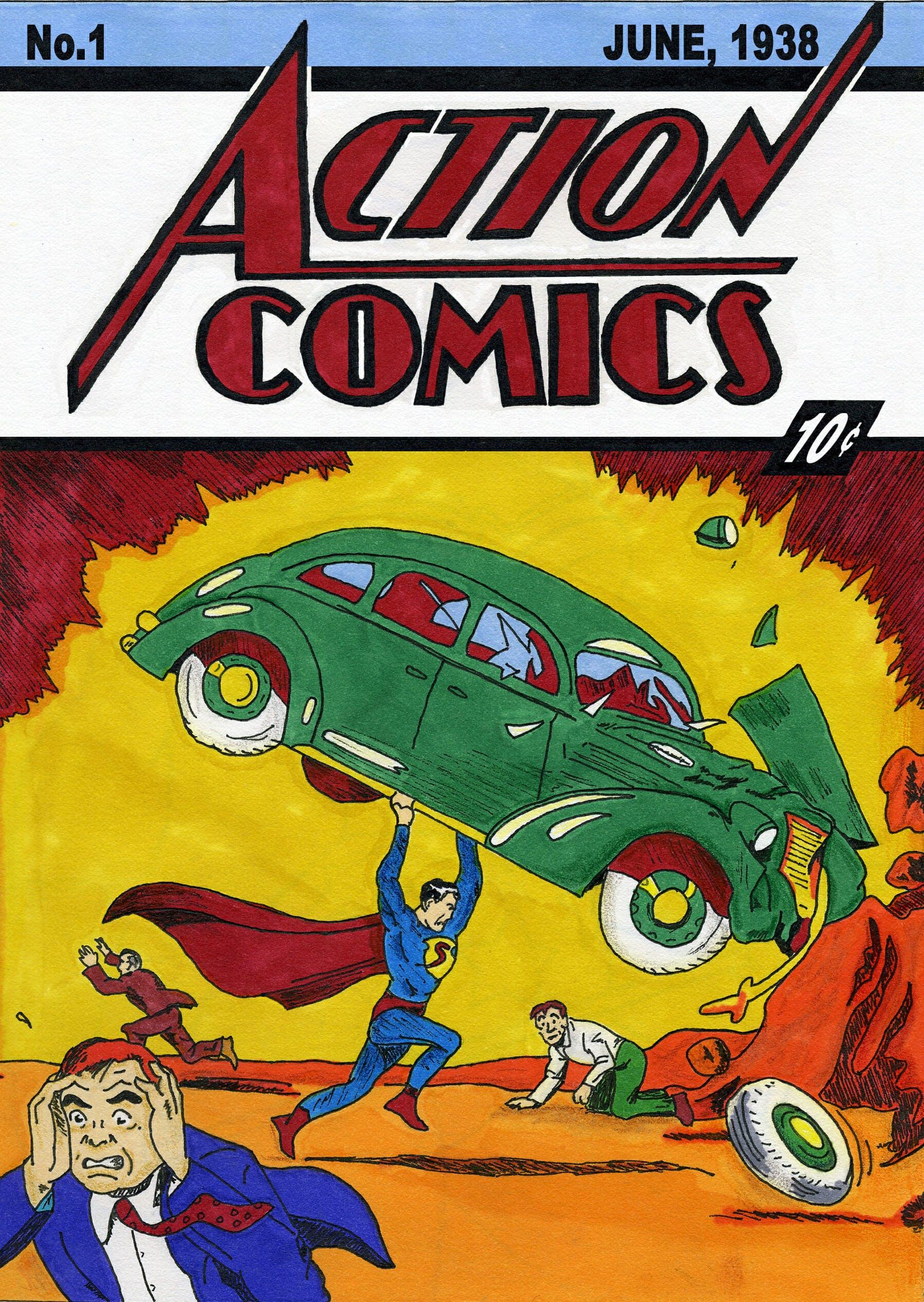 action comics 1- best comics on comixology