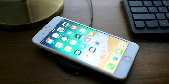apple iphone 8 plus wireless charging