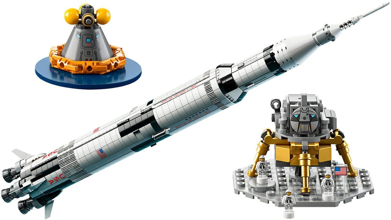 best lego sets 2017 : Saturn V