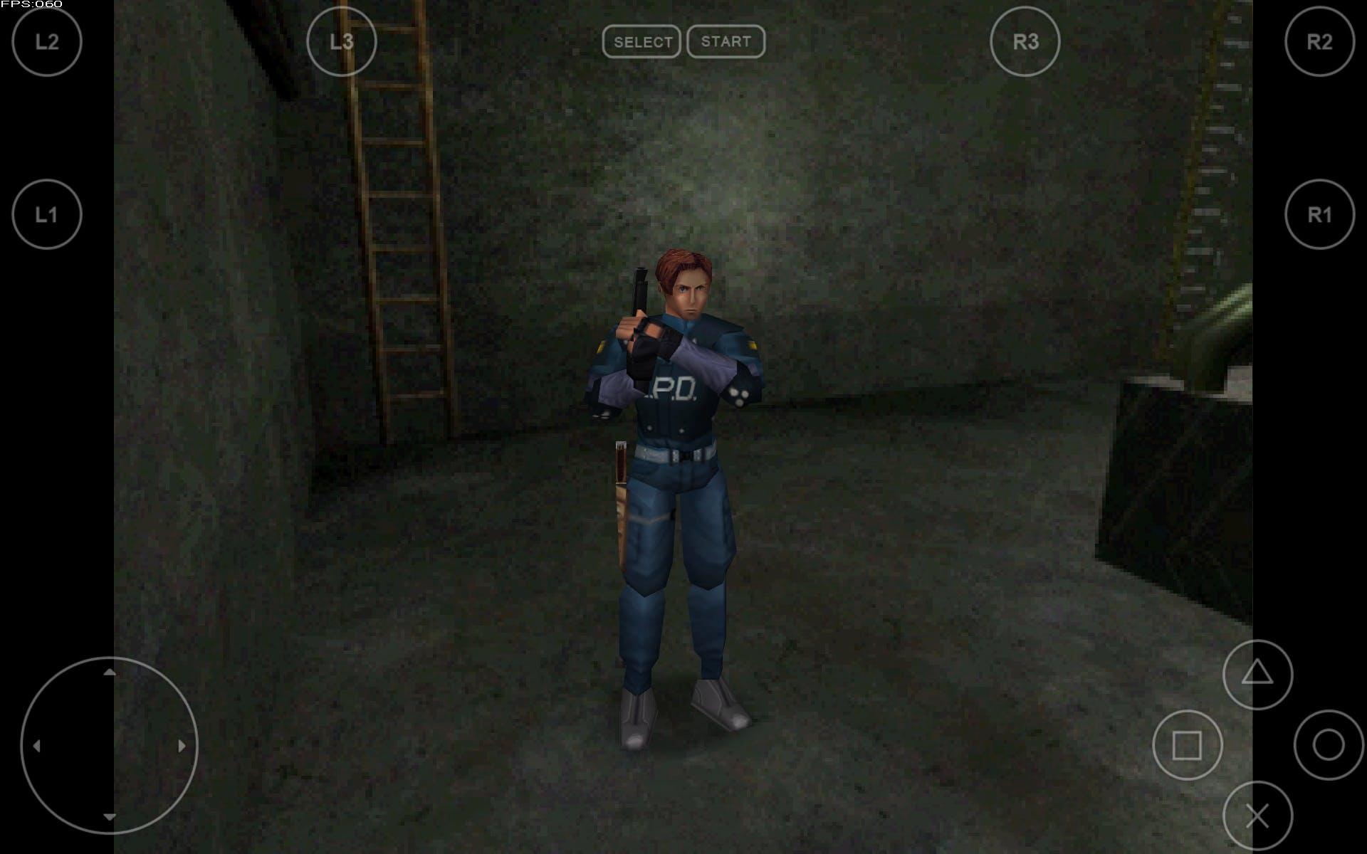 """""""Resident Evil"""" emulated on FPse"""