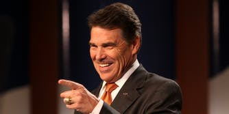 rick perry fossil fuels