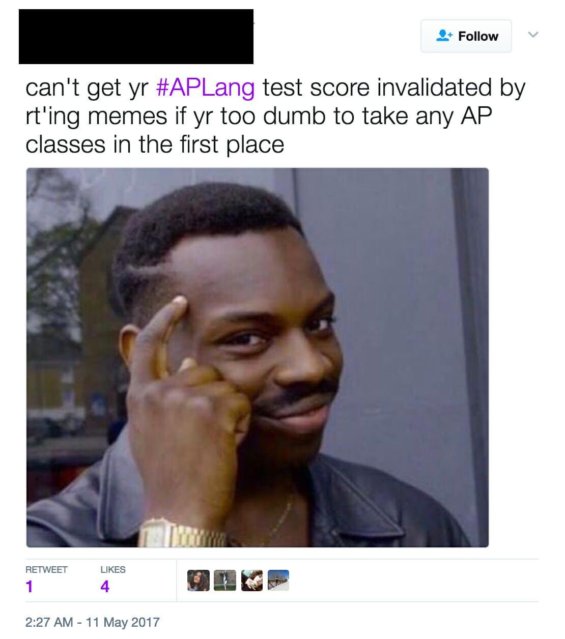 High school kids are roasting Trump in their AP exams