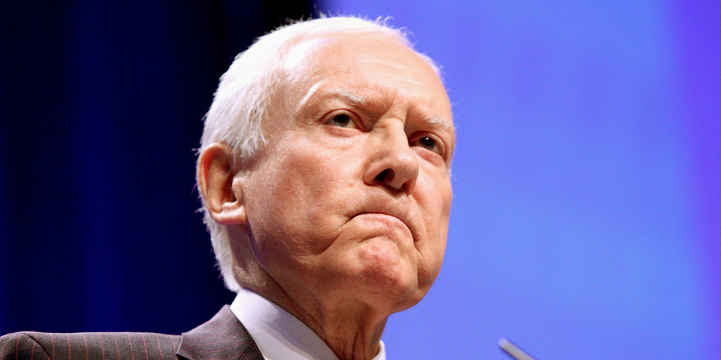 Orrin Hatch announced on Tuesday that he would not seek reelection in 2018.