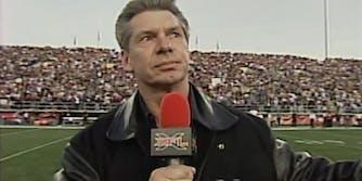 Vince McMahon XFL YouTube videos