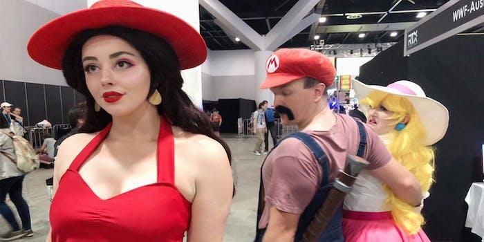 Mario Distracted Boyfriend
