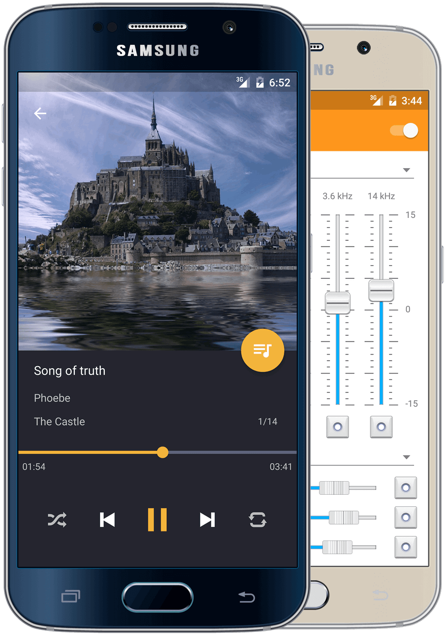music player for android : pulsar