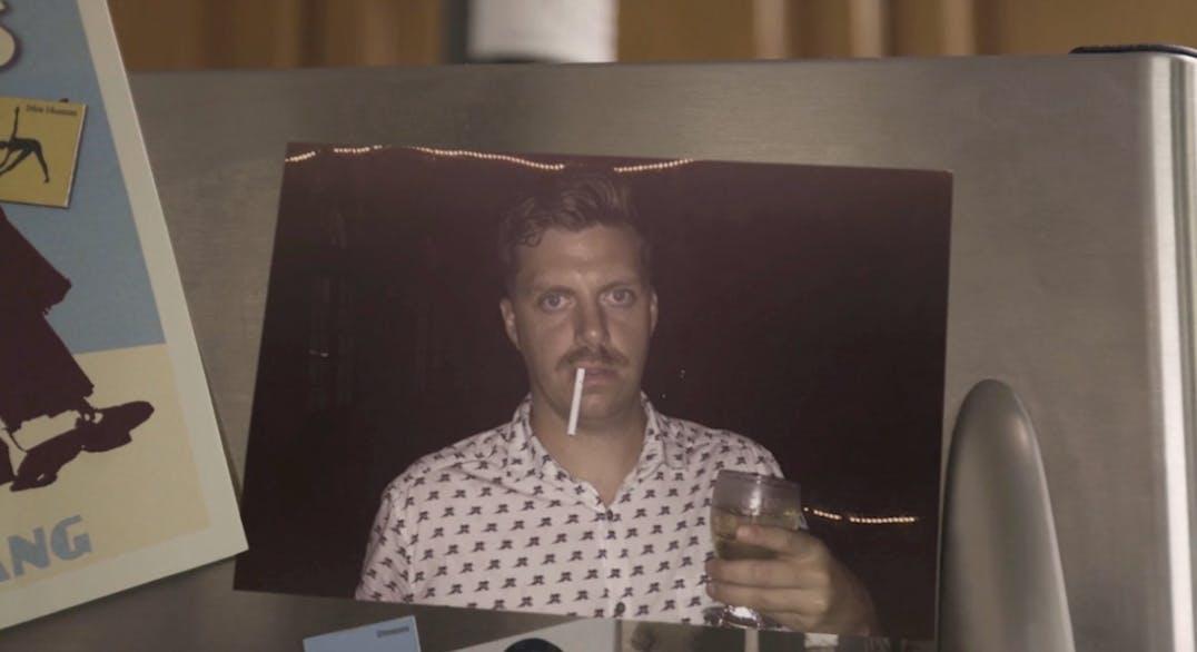 Dannys mustache on 12 Beers