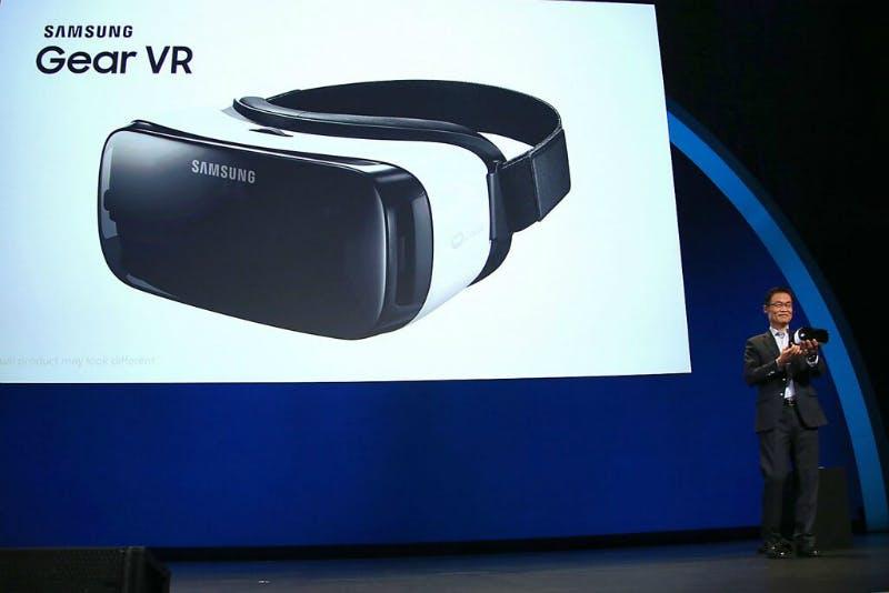 Peter Koo, VP of Samsung Mobile, at Oculus Connect 2.