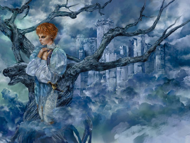 Sansa, cover portrait from A Clash of Kings, Part 2
