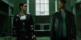 Will Smith the Matrix trailer