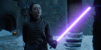 arya lightsaber