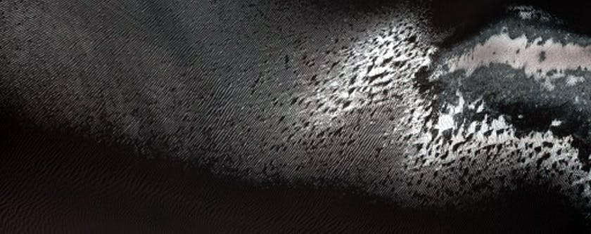 """""""Monitor Dune Gullies in Matara Crater"""""""