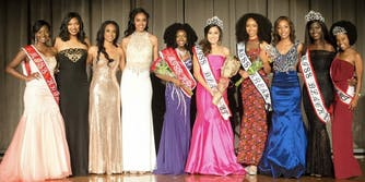 Miss Black University of Texas pageant winner Rachael Malonson