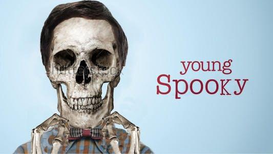 young sheldon spooky meme
