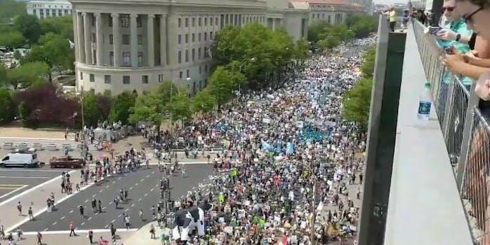 Climate Change march Washington DC