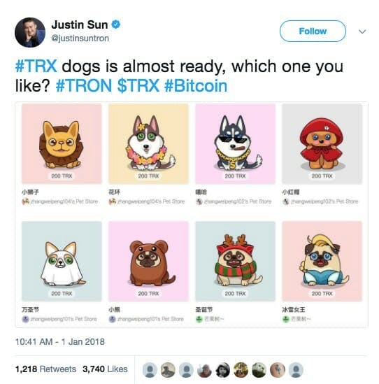 What is Tron TronDogs