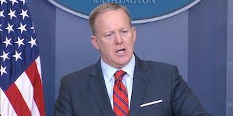 Sean Spicer press conference