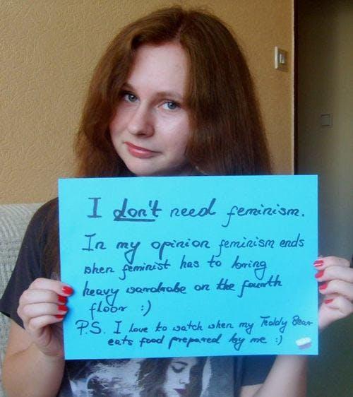 Women Against Feminism Tumblr