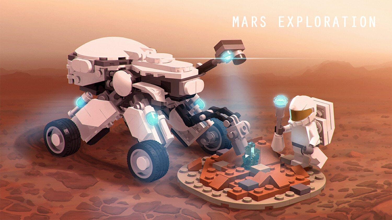 mars mission lego