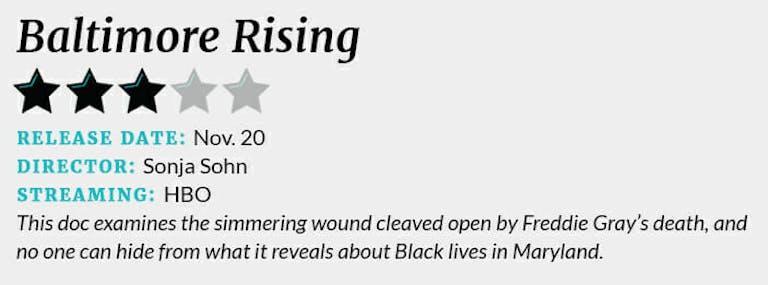 Baltimore Rising review box