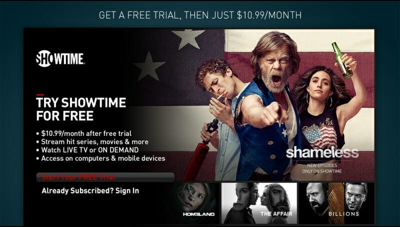 how to watch Showtime boxing on Roku