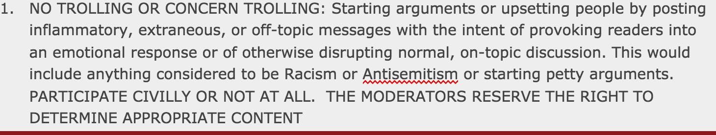 Reddit The_Donald's rules against racist speech leave room for interpretation