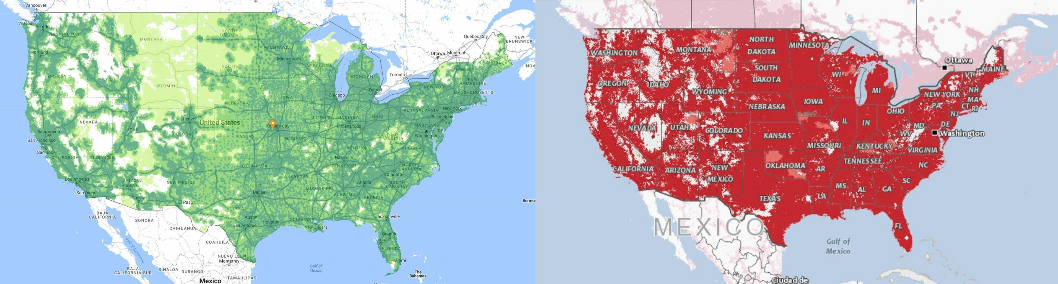 google project fi coverage vs verizon wireless
