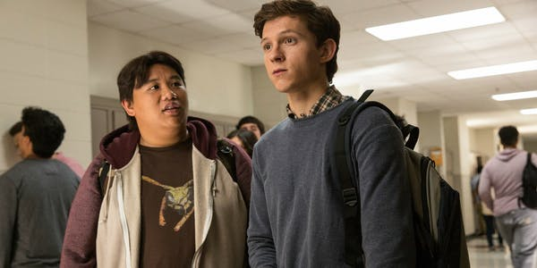spider-man homecoming peter ned