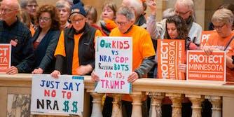 NRA protest boycott
