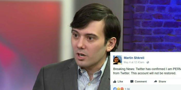 Martin Shkreli Twitter