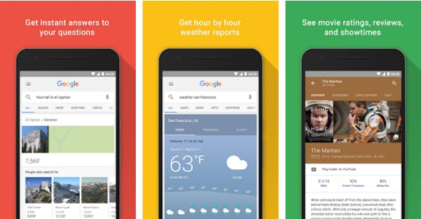 best android apps: Google Now