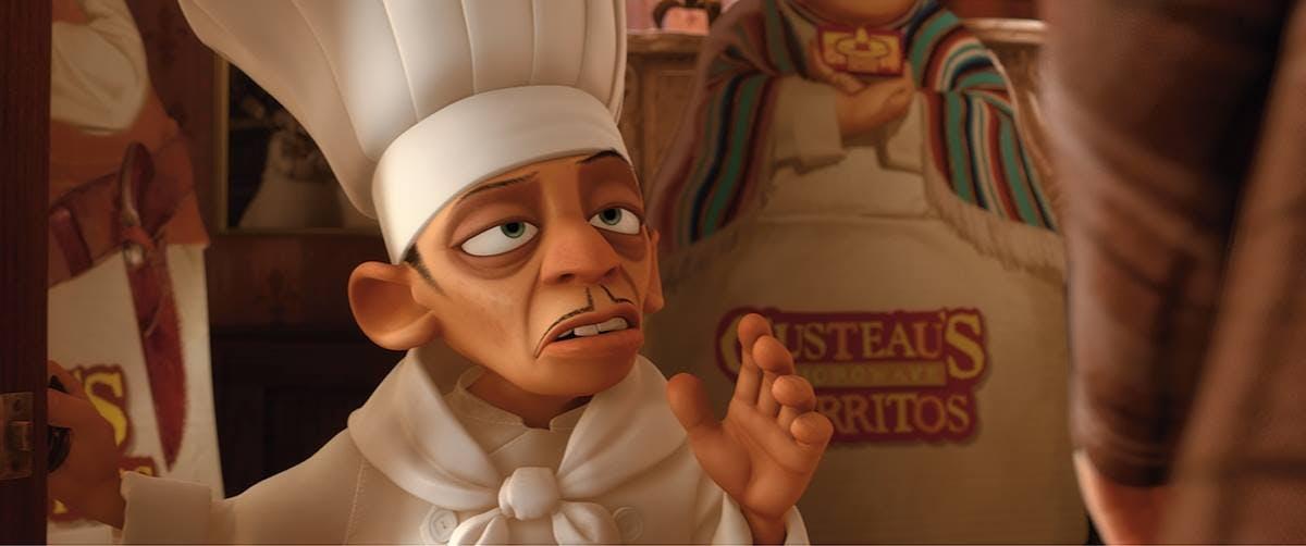 does disney own pixar : ratatouille