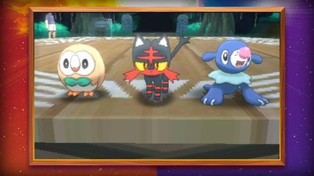 rare pokemon sun and moon