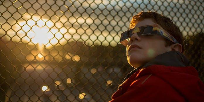 solar eclipse glasses recycle repurpose