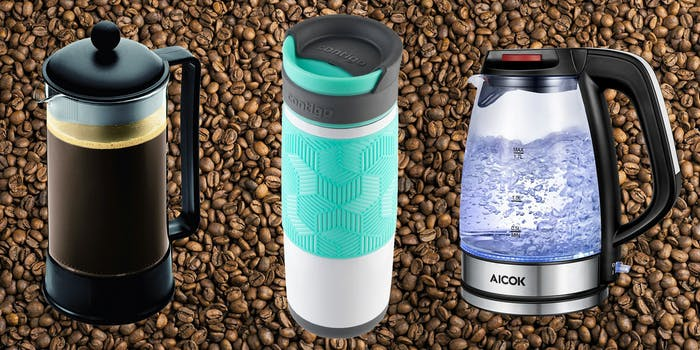 complete coffee set