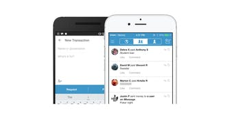 Venmo app on iOS and Android