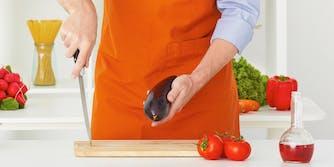 Best dick pics on the internet: Man holding eggplant