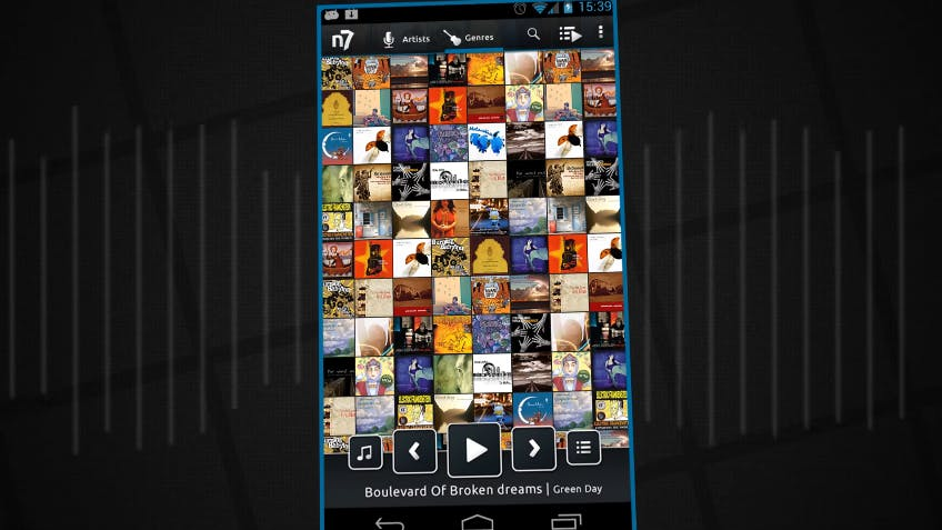 music player for android : n7player