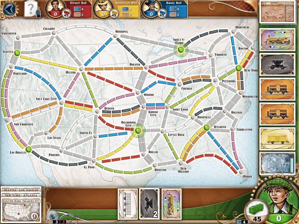 best board games : Ticket to Ride